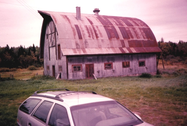 Pic of The cow barn in 1988