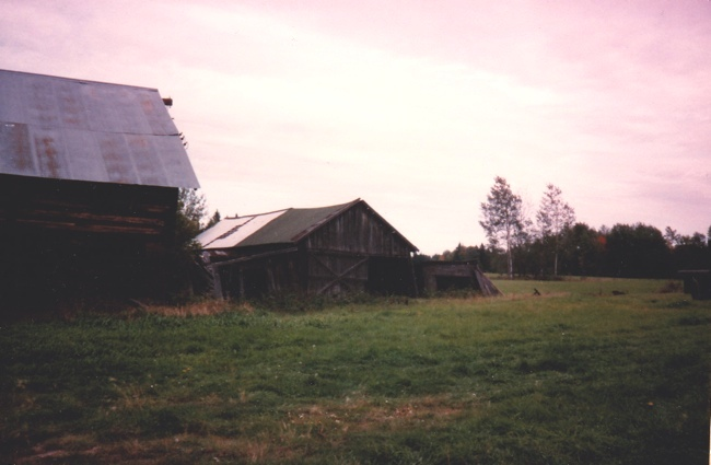 Pic for The pole barn & blacksmith shop in 1988