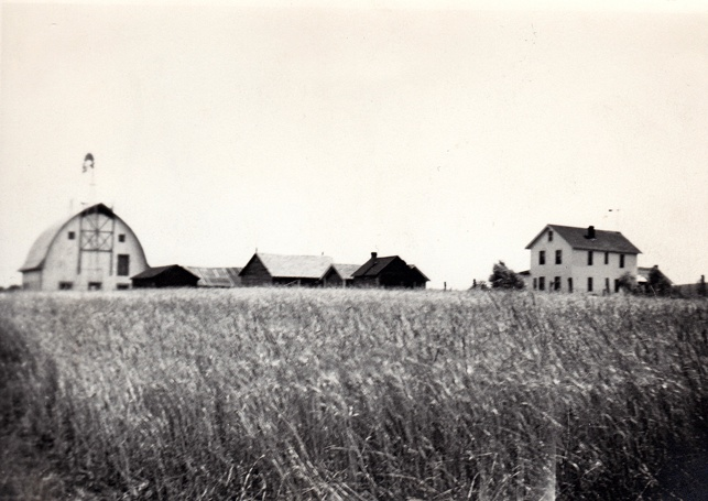 Pic of The Laitala farm as it was in 1938